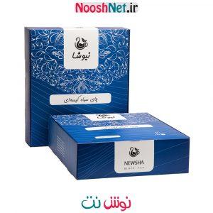 چای سیاه خالص کیسه ای 160 عددی نیوشا (لفاف کاغذی)